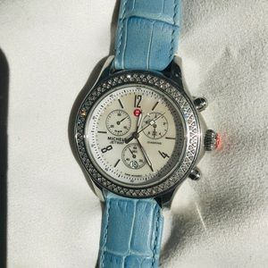 Michele diamond JETWAY WATCH 112 mother of pearl